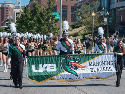 "UAB Homecoming, ""Blazers in the Magic City,"" is Oct. 14-20"