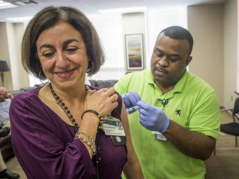 Get your flu shot in October, early November to stay flu-free this season