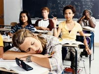 Adolescents stress more with poor sleep