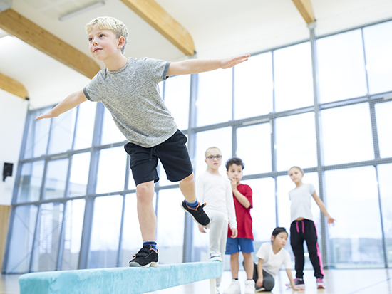 Childhood injuries could decrease with balance training in schools