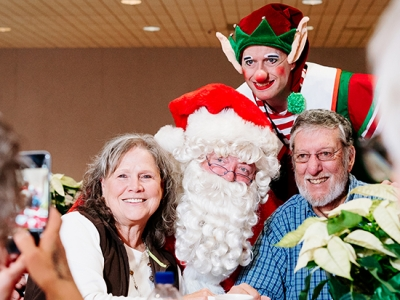 Blood and marrow transplant patients celebrate the holidays with UAB