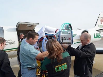 CCT does first air transport of patient on ECMO