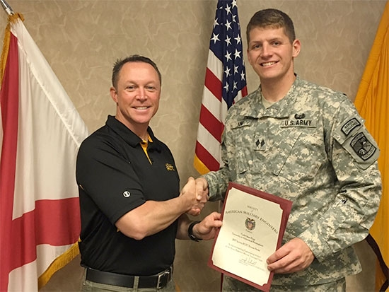 UAB senior receives prestigious Society of American Military Engineers award
