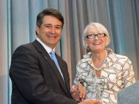 Alvarez recognized for excellence in ovarian cancer research