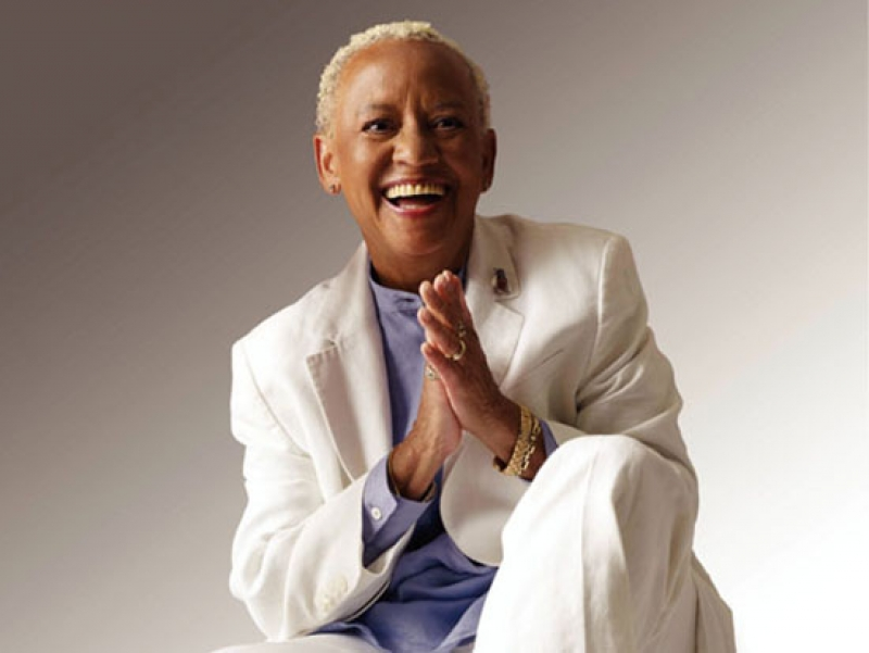 Experience a historic night with nationally recognized poet Nikki Giovanni