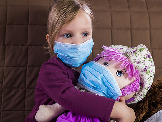 Tips for children wearing masks during a pandemic