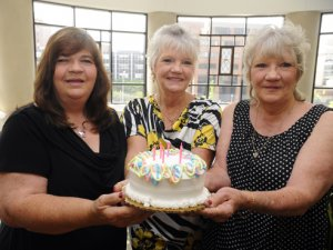 Triplets celebrate 60th birthday with return trip to UAB
