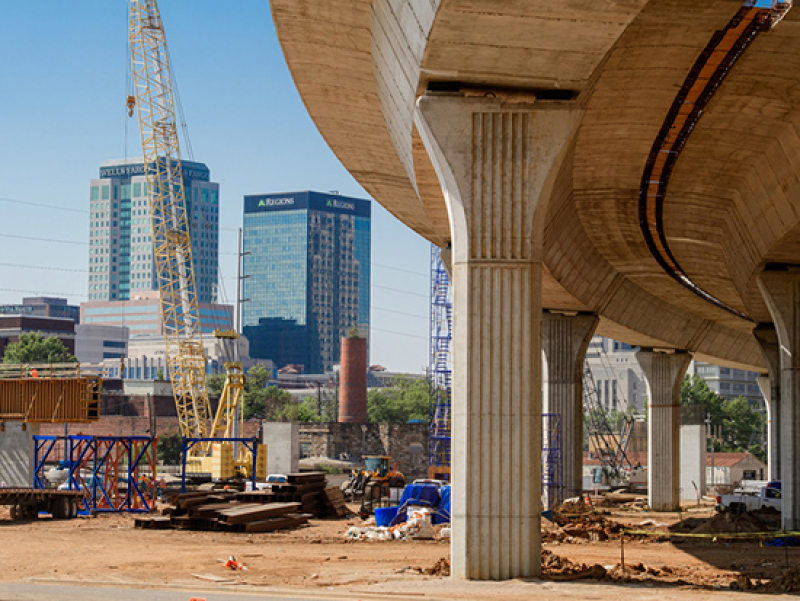 Birmingham interstate construction inspires UAB civil engineering study