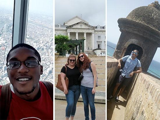Four UAB students take summer studies abroad through Gilman Scholarship