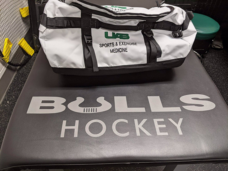 UAB sports medicine partners with Birmingham Bulls hockey team