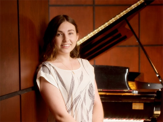 UAB piano student Mira Walker wins national award