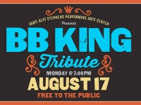 UAB's Alys Stephens Center presents free tribute concert to B.B. King on Aug. 17