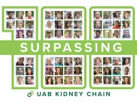 Nation's longest single-site kidney chain reaches 100