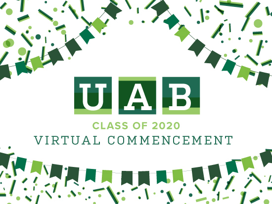 Celebrate UAB virtual commencement Dec. 11-12