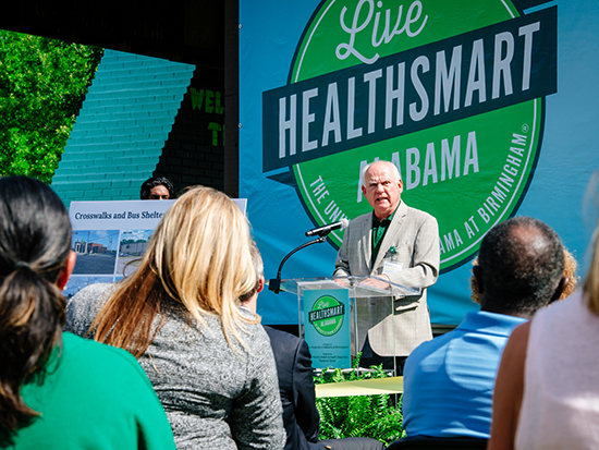Live HealthSmart Alabama celebrates phase one improvements in Kingston, part of the first year's efforts to revitalize Birmingham neighborhoods