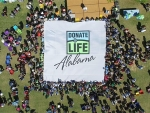 Alabama Organ Center celebrates National Donate Life Month, National Blue and Green Day