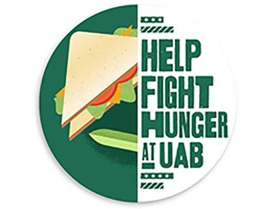 Support Blazers Against Hunger on Nov. 19 and open fridge doors for those in need at UAB