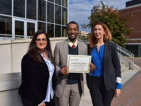 Lamario Williams wins health professions Scholarship of Excellence
