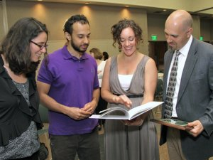 22 professors presented Excellence in Mentorship Awards