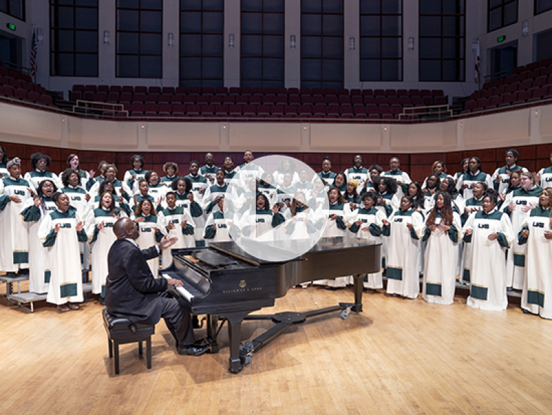 Choirs from Wales and the University of Alabama at Birmingham unite virtually in song of hope