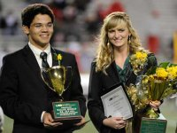 Elizabeth Simbeck, Mallick Hossain named Mr. and Ms. UAB 2011