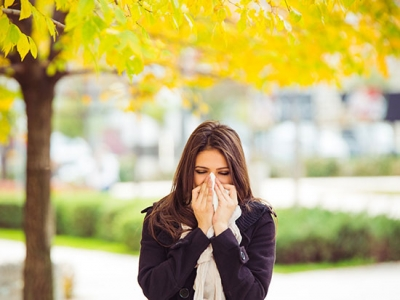 Don't let fall allergies leave you in the cold