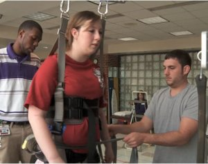 Student recovers from Alabama tornado injuries  — one step at a time