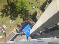 UAB School of Engineering hosts 27th annual Egg Drop Competition