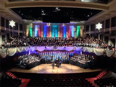 "Choirs sing in the holiday season at ""Christmas at the Alys"" Dec. 4"