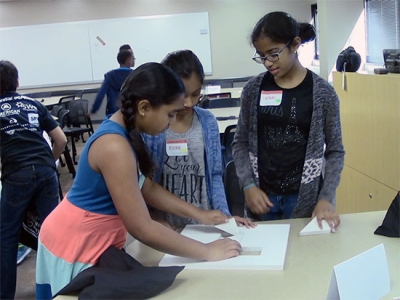 Kids experience engineering firsthand at UAB's Kids in Engineering Day