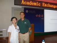 UAB volunteers teach PT to  Chinese health-care workers