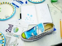 Unique Converse designs created by Birmingham students come to life this week with UAB Department of Art and Art History
