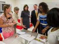 Governor visits UAB-assisted training of Alabama educators