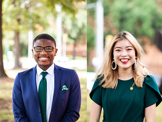 Xavier Turner and Angela Lee named Mr. and Ms. UAB 2021
