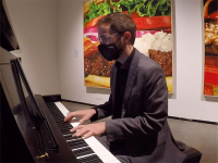 Watch UAB musicians perform chamber music in AEIVA art galleries Oct. 15