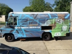 Work by first-year UAB design student chosen for Woodlawn Foundation bus