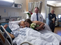 "Terminally ill dad celebrates daughter's wedding with ""Blessing of Marriage"" at UAB Hospital"