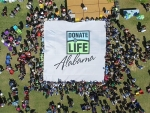 Alabama Organ Center celebrates National Donate Life Month, National Blue & Green Day