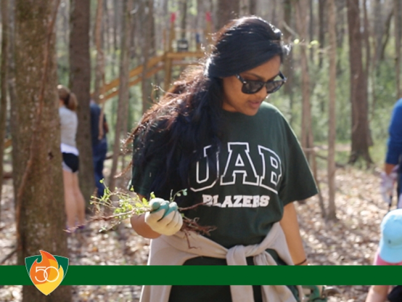 MLK Jr. Day of Service on Jan. 21 will kick off 50 Acts of Service for UAB's 50th