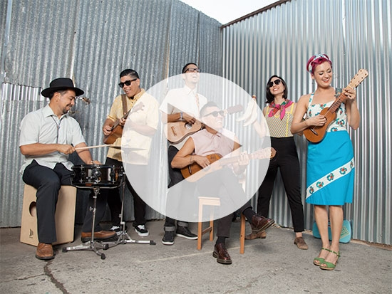 Party with Las Cafeteras at free Alys Stephens Center concert Oct. 12