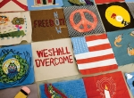 New March Quilts project: Create community art with focus on gender pay equity