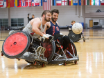 Asif serves as team physician for USA Wheelchair Rugby team ahead of Paralympic Games