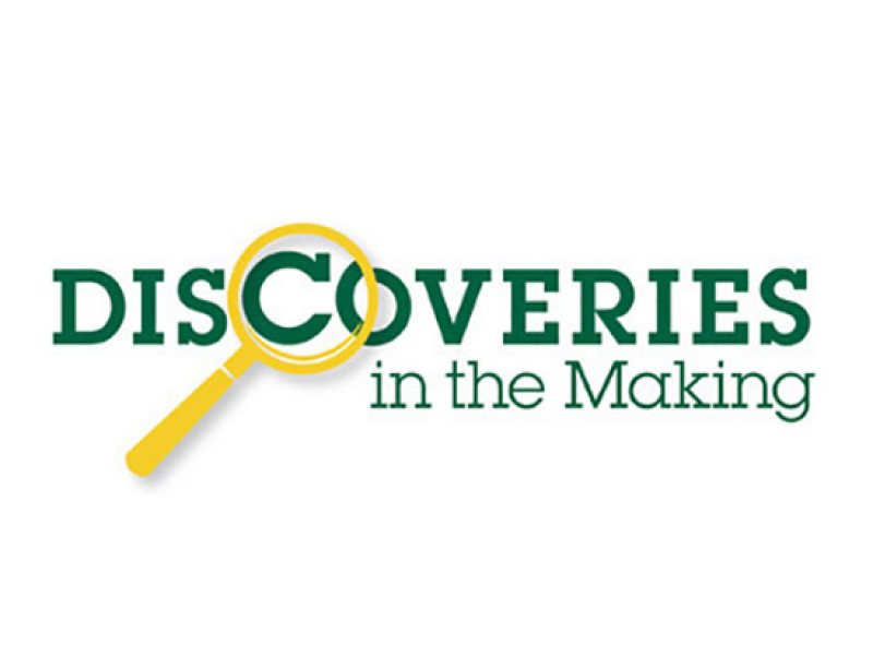 """Discoveries in the Making"" series is April 13 and May 11"