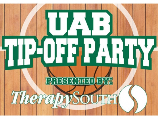 Start basketball season with the UAB National Alumni Society's Tip-Off Party on Oct. 25