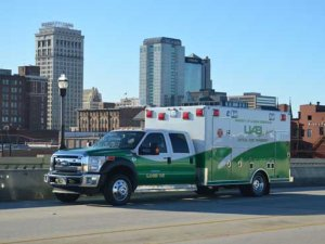 UAB's re-vamped critical care ambulance now safer, greener