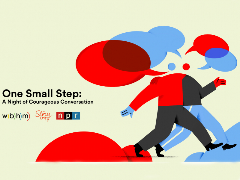 "WBHM, NPR and StoryCorps invite Birmingham to take ""One Small Step"" across the political divide Feb. 7"