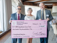 Breast Cancer Research Foundation of Alabama presents its largest donation to UAB