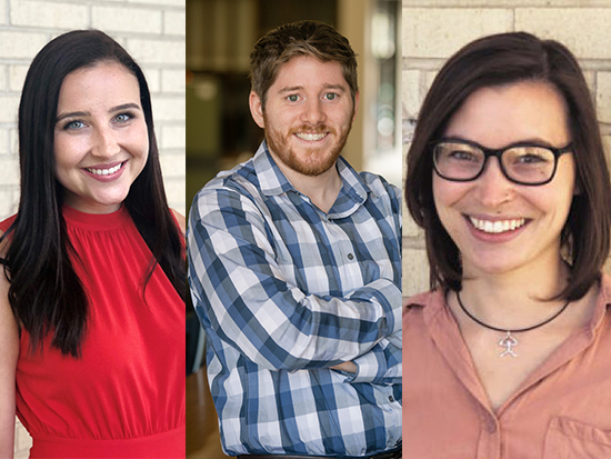 Three graduate students awarded U.S. Department of Transportation fellowships