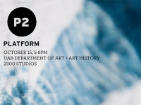Platform2 visual arts event at UAB's 2300 Studios on Oct. 15 to benefit scholarships