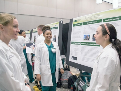 Research and creativity showcased at UAB undergraduate expo